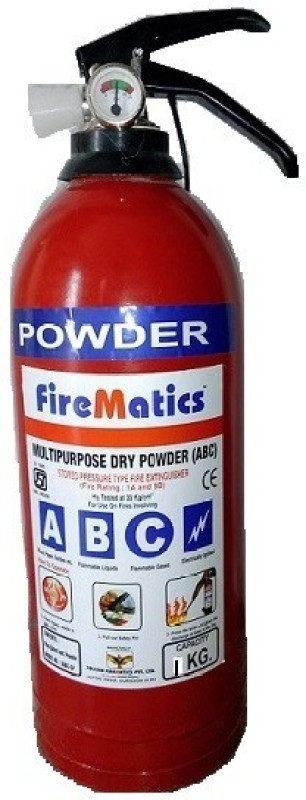Fire Matics ABC 1kg Fire Extinguisher Mount(1 kg)