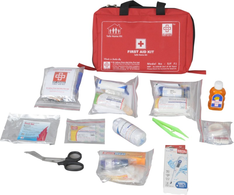 ST JOHNS FIRST AID SJF F1 First Aid Kit(Home)