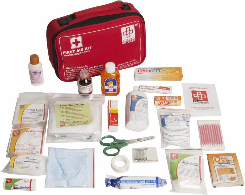 ST JOHNS FIRST AID SJF T4 First Aid Kit(Home)