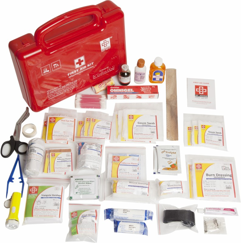 ST JOHNS FIRST AID SJF P3 First Aid Kit(Workplace, Vehicle)