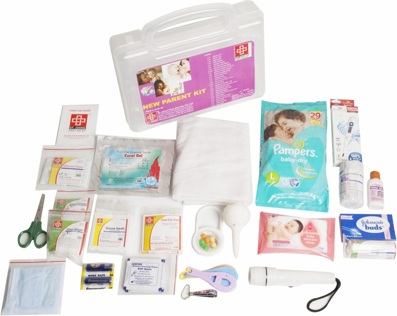 ST JOHNS FIRST AID SJF NP First Aid Kit(Home)