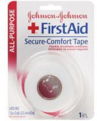 Johnson & Johnson Secure-Comfort Tape First Aid Tape(Pack of 1)