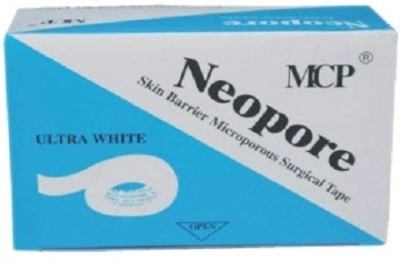 MCP Neopore One Inch 6 Yards 12 Rolls First Aid Tape(Pack of 12)