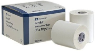 Kendall Wet-Pruf Waterproof Surgical Tape First Aid Tape(Pack of 1)