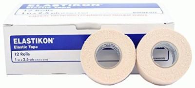 Johnson & Johnson Elastikon Elastic Tape First Aid Tape(Pack of 6)