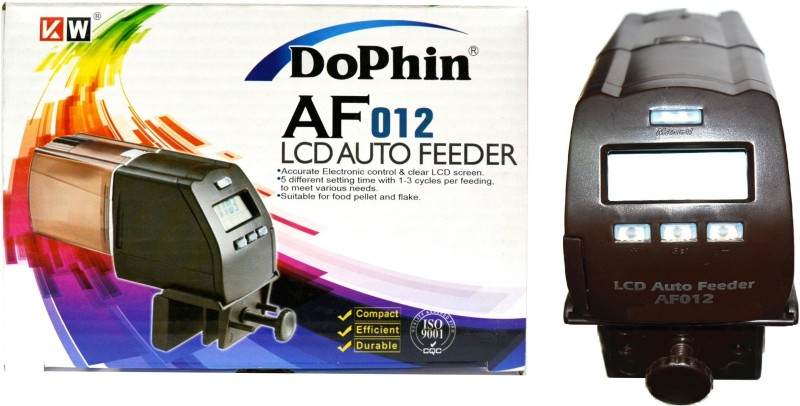 Dophin AF-012 Digital Automatic and Manual Fish Feeder(100 g)