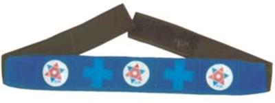 Acs Magnet Head Belt - Velvet Fitness Band(Blue)