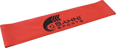Sahni Sports Loop Light Resistance Band(Red, Pack of 1)