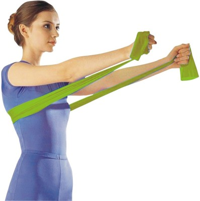 Oppo Fitness Band Resistance Band(Green, Pack of 1)