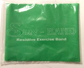 Sun Band 0401-004 Fitness Band(Green, Pack of 1)