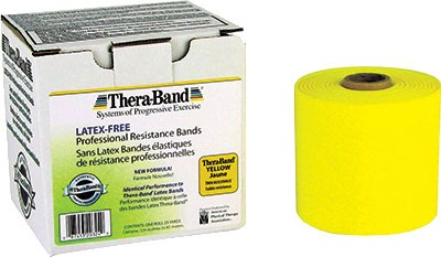 Thera-Band Thin 25 Yards Latex Free Resistance Band