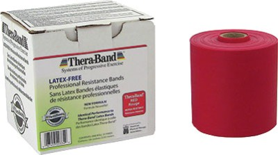 Thera-Band Medium 25 Yards Latex Free Resistance Band