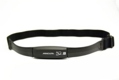Minoura Heart Rate Sensor with Belt Fitness Band