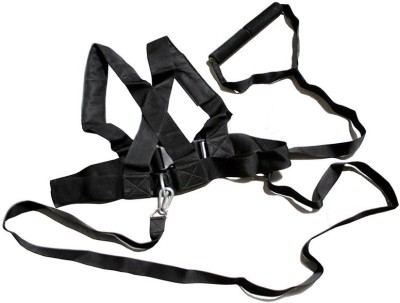 Sahni Sports Shoulder Resistance Harness Fitness Band(Black, Pack of 1)