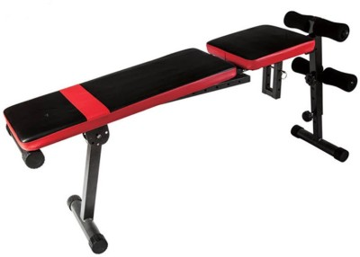 Kobo Adjustable Flat Incline Decline Weight Lifting Exercise Ab Multipurpose Fitness Bench