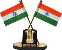 Celebrate India India Double Sided Wind Car Dashboard Flag Flag(Nylon)