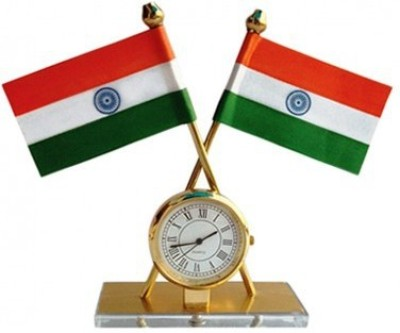 SHREE ENTERPRISE INDIA Rectangle Car Dashboard Flag Flag