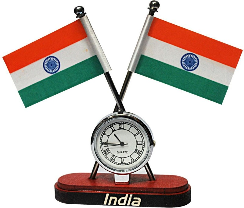 Anil Bhai Rakhi Wala India Double Sided Wind Car Dashboard Flag Flag(Nylon)