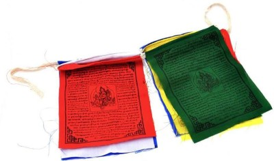 My Earth Store Tibetan Rectangle Outdoor Flag Flag