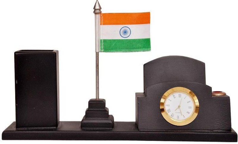 Indigo Creatives India Double Sided Wind Table Miniature Flag(Cotton)