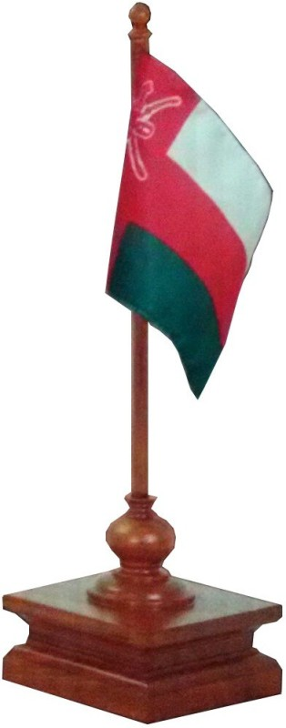 Malabar Oman Tear Drop Table Miniature Flag(Cotton, Polyester)
