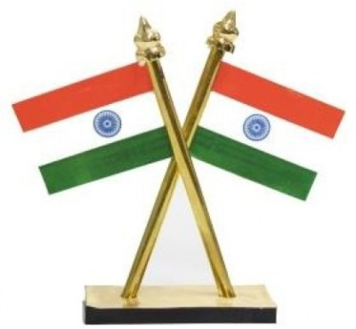 SHREE ENTERPRISE india Double Sided Wind Car Dashboard Flag Flag
