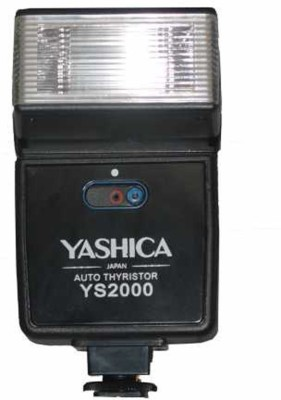 Yashica Manual Camera Flash/ Speedlite For Nikon Canon Panasonic Fuji Olympus Cameras- YS-2000 Flash(Black)