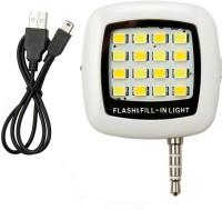 Sg Group 16 Led Light For Mobile Flash(White, Black)