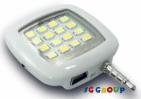 Sg Group 16 LED Selfie Flash Flash(White)
