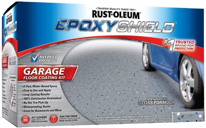 Rust-Oleum EpoxyShield-Garage-Floor-Coating Epoxy Floor Coating Paint(3.55 L)