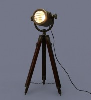The Brighter Side Torch Floor Lamp
