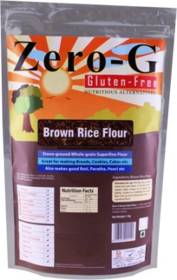 Zero-G Brown Rise pack of 2 Rice Flour(Pack of 2)