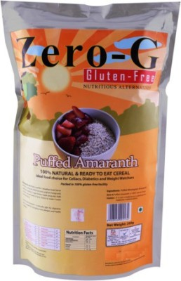 Zero-G Puffed Amaranath pack of 3 Amaranth Flour(200 g, Pack of 3)