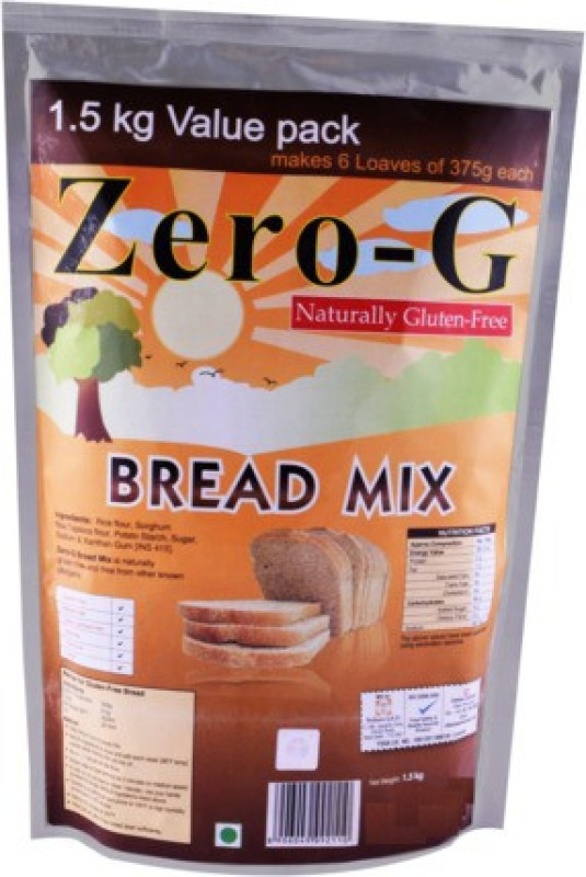 Zero-G Bread Mix value pack Bread Flour(Pack of 1)
