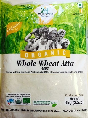 24 Mantra Whole-Wheat Flour(Pack of 2)