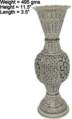 Rajasthan Craft Art Rca-Wmfk-149 Silver Plated Flower Basket without Artificial Flower & Plant
