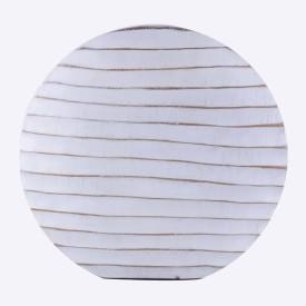 Classique RDBV17 Ceramic Flower Basket without Artificial Flower & Plant(W: 35 cm x H: 34 cm x D: 5 cm)