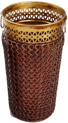 MohanJodero MJMHFV0012 Brass, Iron Flower Basket without Artificial Flower & Plant