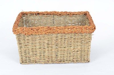 Scrafts SCPL028 Bamboo Flower Basket without Artificial Flower & Plant