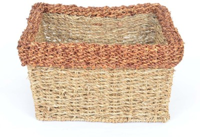 Scrafts SCPL025 Bamboo Flower Basket without Artificial Flower & Plant