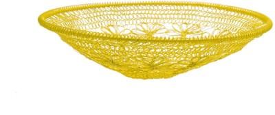 Chumbak CHDEHDBJIC9Y1PN Iron Flower Basket without Artificial Flower & Plant(W: 30 cm x H: 6.35 cm x D: 5.35 cm)