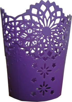 shopx flwrbkt88 Silicone Flower Basket without Artificial Flower & Plant