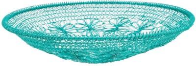 Chumbak CHDEHDBJIC9T2PN Iron Flower Basket without Artificial Flower & Plant(W: 30 cm x H: 6.35 cm x D: 5.35 cm)