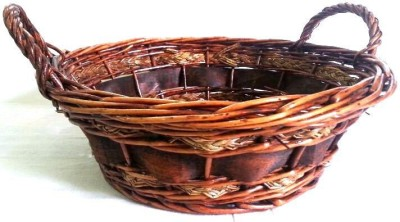 Expression Crafts sa43 Cane Flower Basket without Artificial Flower & Plant