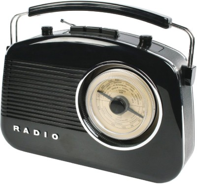 Konig Retro Design FM Radio(Black)