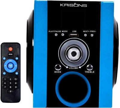 KRISONS MULTIMEDIA SPEAKERS FM Radio(Blue)