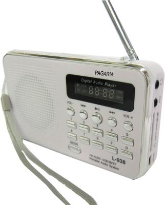 Pagaria L-938 FM Radio(White)