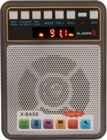 Yuvan SL-526 Bluetooth USB/ SD Player With FM Radio(Multicolor)