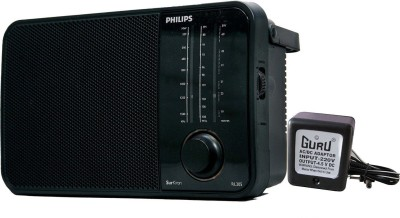 Philips IN-RL205/N FM Radio(Black)