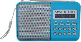 Swarish L -SS6 Portable Mini Speaker FM Radio(Blue)